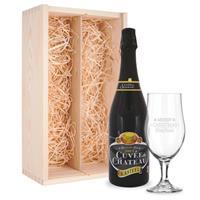 YourSurprise Bierpakket met glas - Kasteel Cuvée du Chateau