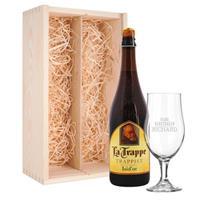 YourSurprise Bierpakket met glas - La Trappe Isid'or