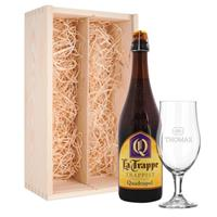 YourSurprise Bierpakket met glas - La Trappe Quadrupel