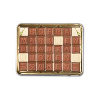 YourSurprise Chocotelegram in cadeaublik - 35 letters
