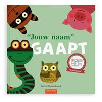 YourSurprise Boek met naam - Iedereen gaapt - flapjesboek