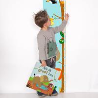 YourSurprise Boek met naam - Als ik groot ben - boek met groeiposter