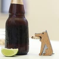 Kikkerland Hond flesopener