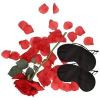 Bellatio Liefdes verassingspakket zwarte maskers