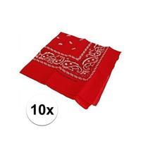 Bellatio 10 rode boeren zakdoeken