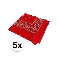Bellatio 5 rode boeren zakdoek