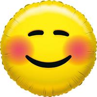 Folie ballon bloos smiley 45 cm