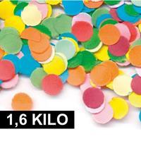 1,6 kilo Confetti multicolor