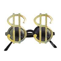 Dollar bril goud
