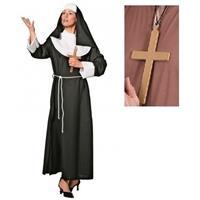 Compleet nonnen kostuum voor dames