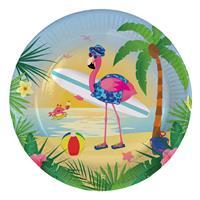 EzyDog Bordjes Flamingo on the beach