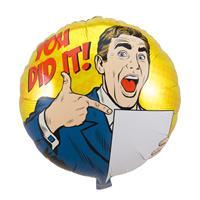 EzyDog Geslaagd You Did It Folieballon - 45cm