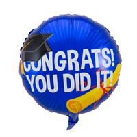 EzyDog Geslaagd Congrats Folieballon - 45cm