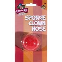 Smiffys Rode clown neus van foam Rood