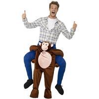 Smiffys Instap dierenpak kostuum aap voor volwassenen