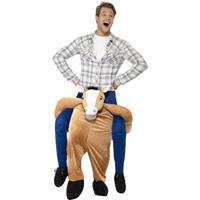 Smiffys Instap dierenpak kostuum paard voor volwassenen