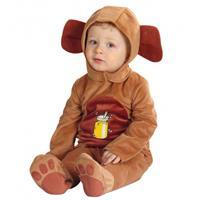 Beren kostuum voor baby's Bruin