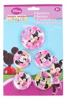 Disney Minnie Mouse buttons 5 stuks