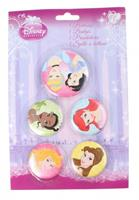 Disney Princess buttons 5 stuks