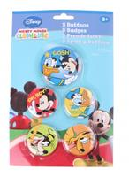 Disney Mickey Mouse buttons 5 stuks