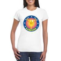 Shoppartners Wit kampioen shirt voor dames