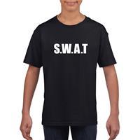 Shoppartners SWAT tekst t-shirt zwart kinderen (134-140) Zwart