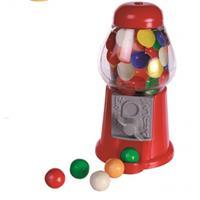 Mini kauwgomballen automaat Rood
