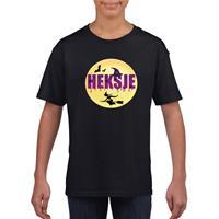 Shoppartners Halloween heksje t-shirt zwart meisjes (134-140) Zwart