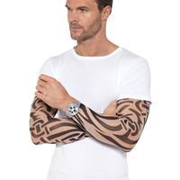 Smiffys 2x Tattoo sleeves tribal voor volwassenen