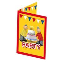 Buurman & Buurman Buurman en Buurman verjaardag uitnodigingen 8 stuks Multi