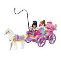 Sluban Building Blocks Girls Dream Series Princess Carriage -