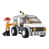 Sluban M38-B0359 Aviation Bestelwagen 75-delig