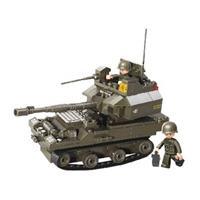 Sluban M38-B0282 Bouwstenen Army Serie Tank