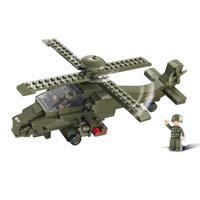 Sluban M38-B0298 Bouwstenen Army Serie Gevechtshelikopter
