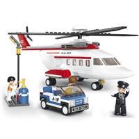 Sluban Helicopter M38-B0363