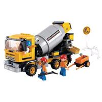 Sluban M38-B0550 Town Cement Mixer 296-delig