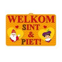 Sinterklaas 3D wanddecoratie 58 x cm Multi