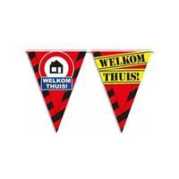 Welkom thuis vlaggenlijn waarschuwingsbord 10mtr Multi