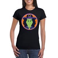 Shoppartners Halloween - Halloween heks t-shirt zwart dames Zwart