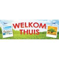 Shoppartners Welkom thuis sticker Multi