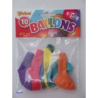 Globos Ballon Kleuren 10 Stuks 21 Cm