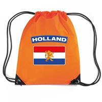 Shoppartners Oranje Holland vlag rugzak Oranje