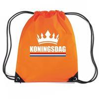 Shoppartners Oranje Koningsdag rugzak Oranje