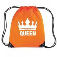 Shoppartners Oranje Queen rugzak Oranje