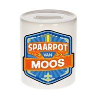 Kinder spaarpot voor Moos - keramiek - naam spaarpotten