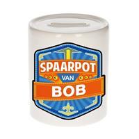 Kinder spaarpot voor Bob - keramiek - naam spaarpotten