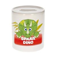 Kinder spaarpot met spaar dino opdruk - keramiek - dinosaurus spaarpotten