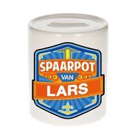 Merkloos Kinder spaarpot voor Lars - keramiek - naam spaarpotten