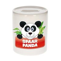 Kinder spaarpot met spaar panda opdruk - keramiek - panda spaarpotten