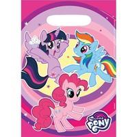 My Little Pony My Little Pony uitdeelzakjes roze 8 stuks